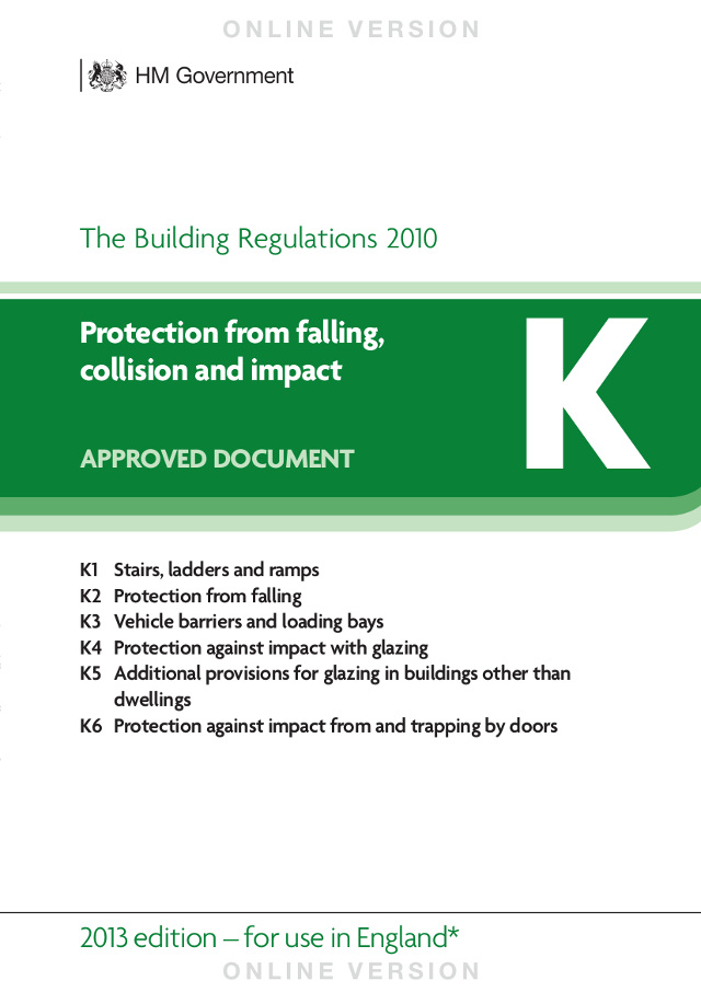 building regulations part k