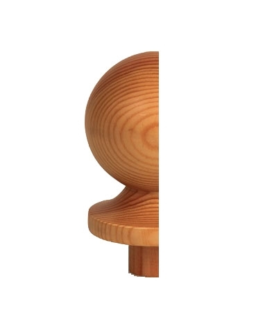 Half Ball Newel Cap