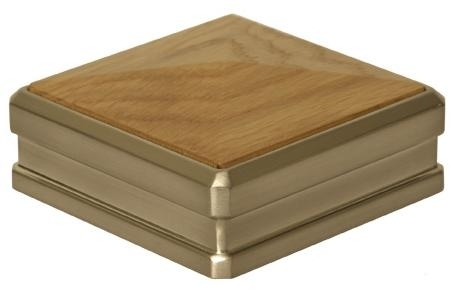 Newel Cap with timber insert