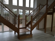 Oak HRBR+Chrome spindles